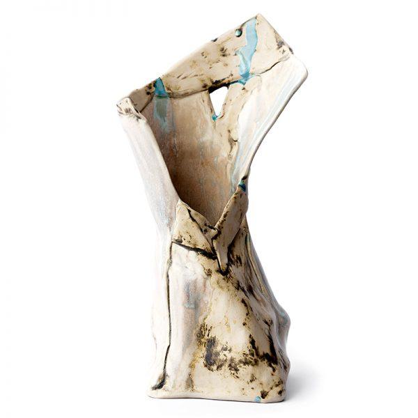 hand made decorative ceramic vase