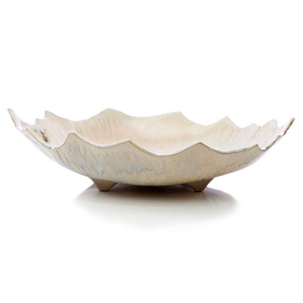 hand made artistic ceramic bowl