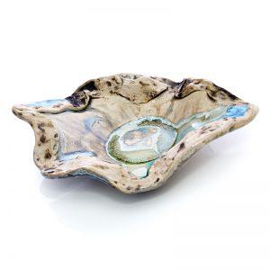 hand made ceramic tea light